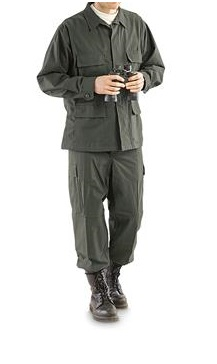 КОМПЛЕКТ US Army BDU OLIVE size M AS-UF0002OD