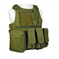 ЖИЛЕТ ТАКТИЧЕСКИЙ MOLLE USMC Combat Assault Plate Carrier код AS-VT0004OD