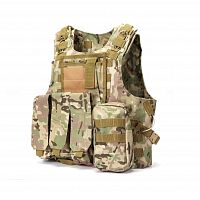 ЖИЛЕТ ТАКТИЧЕСКИЙ MOLLE USMC Combat Assault Plate Carrier код AS-VT0004CP