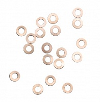 Набор шайб G&P Copper Shim Set (Included 0.1mm thick x 20pcs & 0.2mm thick x 20pcs)