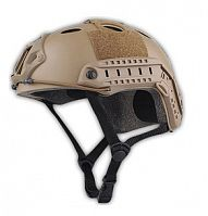 ШЛЕМ ПЛАСТИКОВЫЙ EMERSON FAST PJ HELMET REPLICA  Tan