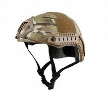 ШЛЕМ ПЛАСТИКОВЫЙ EMERSON FAST Helmet MH TYPE Light version c рельсами FMA AS-HM0120CP
