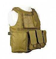 ЖИЛЕТ ТАКТИЧЕСКИЙ MOLLE USMC Combat Assault Plate Carrier код AS-VT0004T