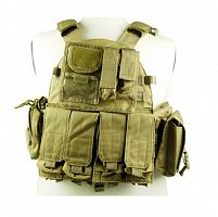 ЖИЛЕТ ТАКТИЧЕСКИЙ Molle Combat Strike Plate Carrier Vest 600D AS-VT0013T