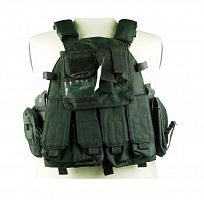 ЖИЛЕТ ТАКТИЧЕСКИЙ Molle Combat Strike Plate Carrier Vest 600D AS-VT0013B