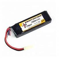 АКБ iPower 11.1V LiPO 1800mAh 20C ALP1800R4A-3S Size(mm): 18x34x102, ,mini Type