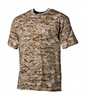ФУТБОЛКА Desert Digital camouflage 100% Cotton 175g/sm, AS-TS0001DD